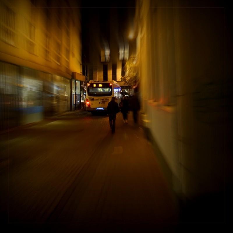 Stranger in the night...