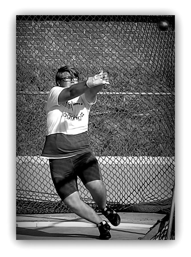 Hammer throw...3