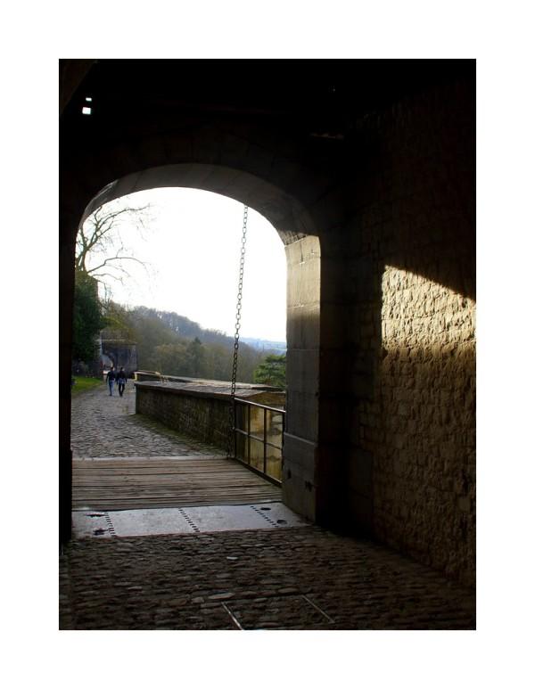 Namur, détails de la citadelle -2-