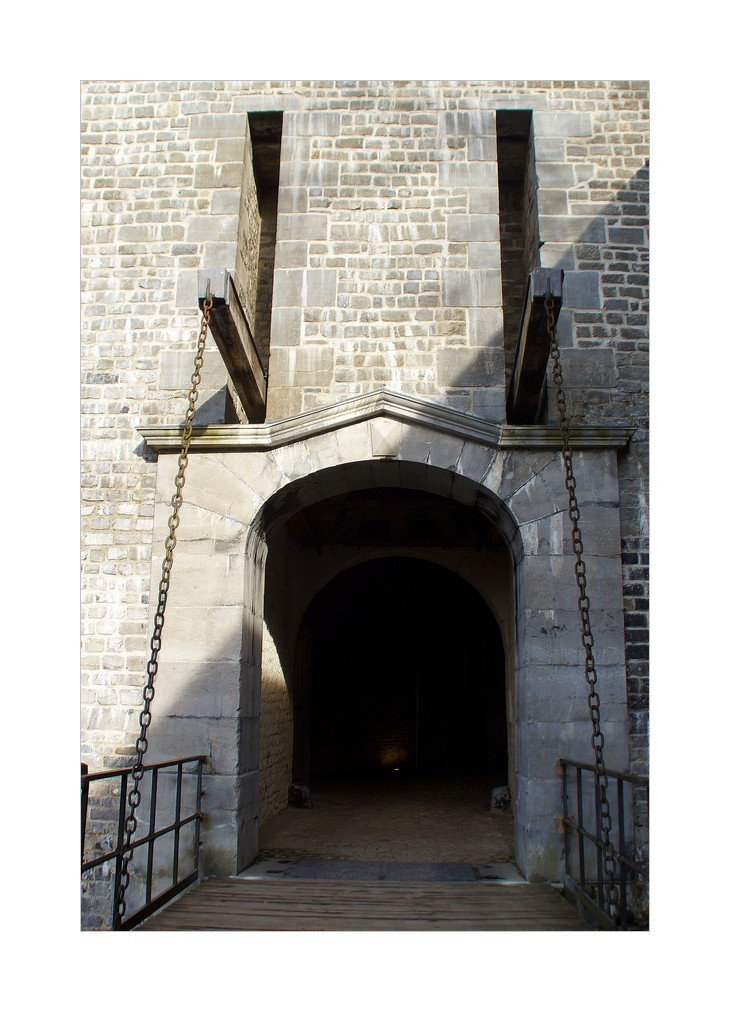 Namur, détails de la citadelle -3-