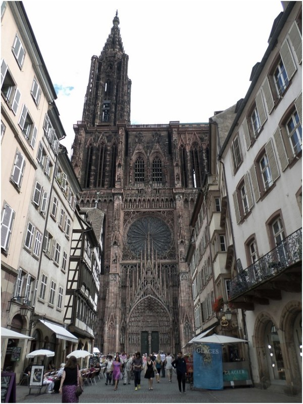 Strasbourg: La cathédale.