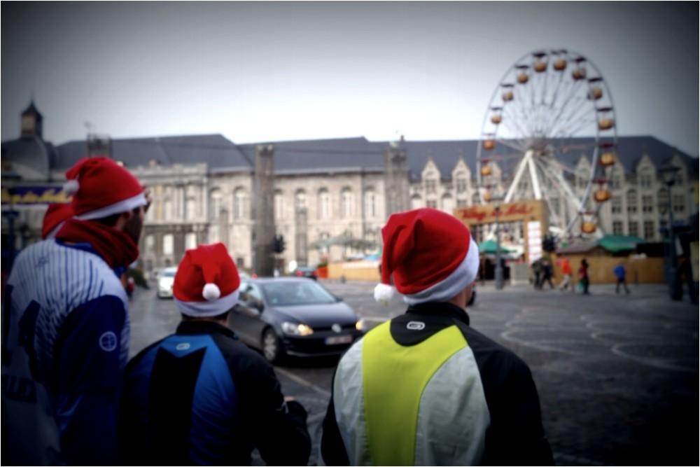 Le Père Noël est un joggeur...