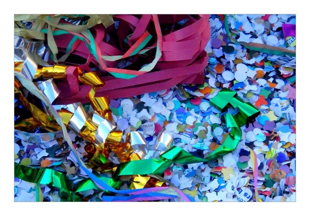 confettis...