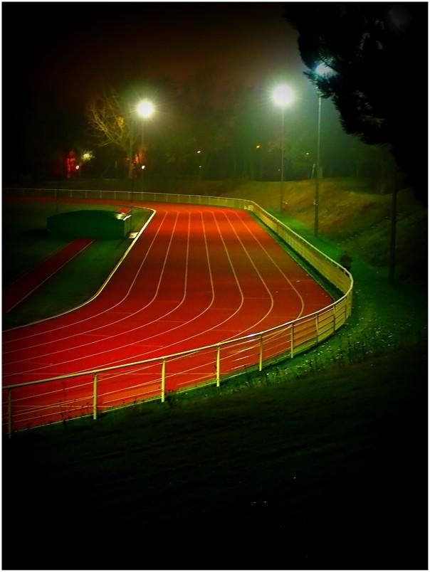 track...