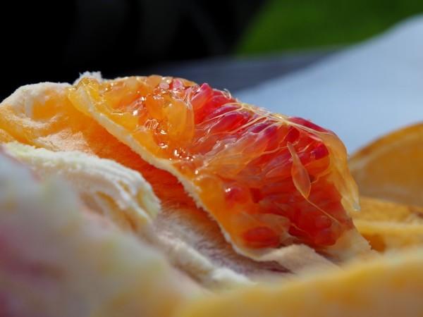 L'orange écorchée...
