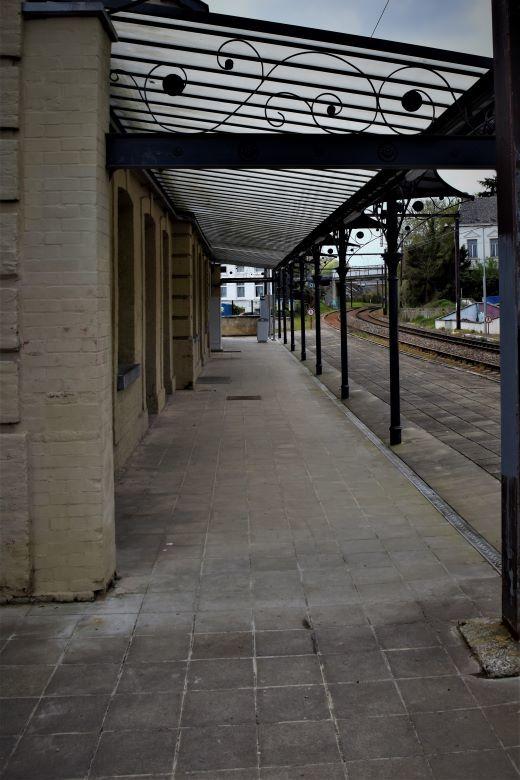 le quai de gare...