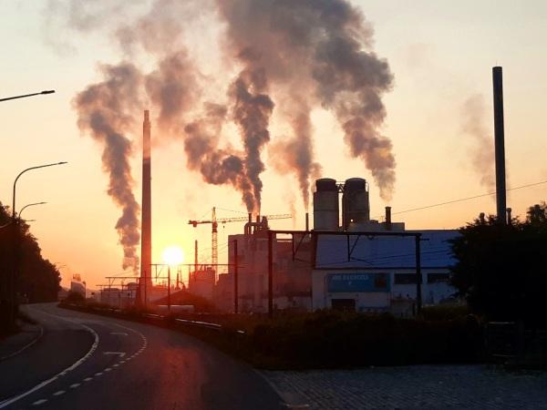 Industrial morning
