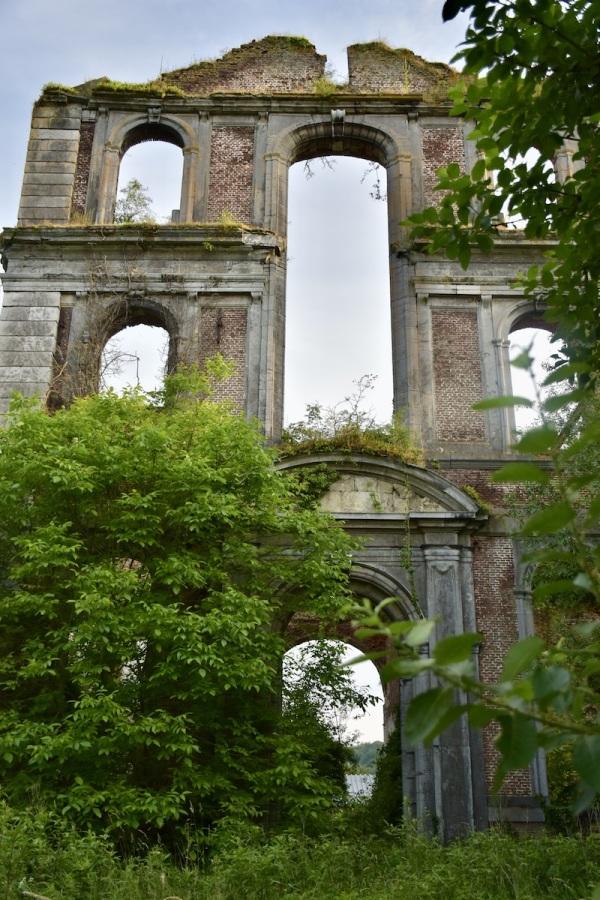 Les ruines de l'Abbaye...