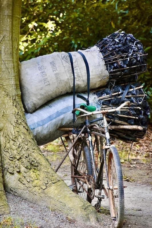 Le vélo du parc..