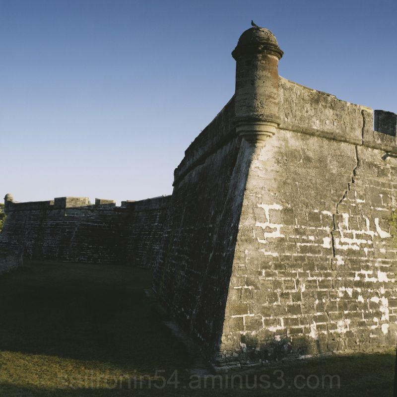 Castillo San Marcos, Saint Augustine, Florida fort