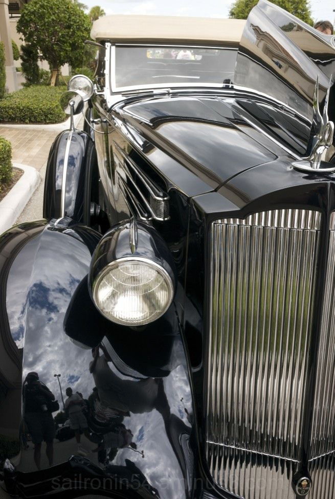 1936 Packard limo