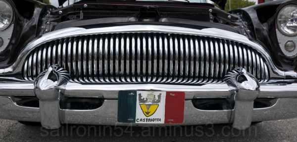 Detail of Oldsmobile grill