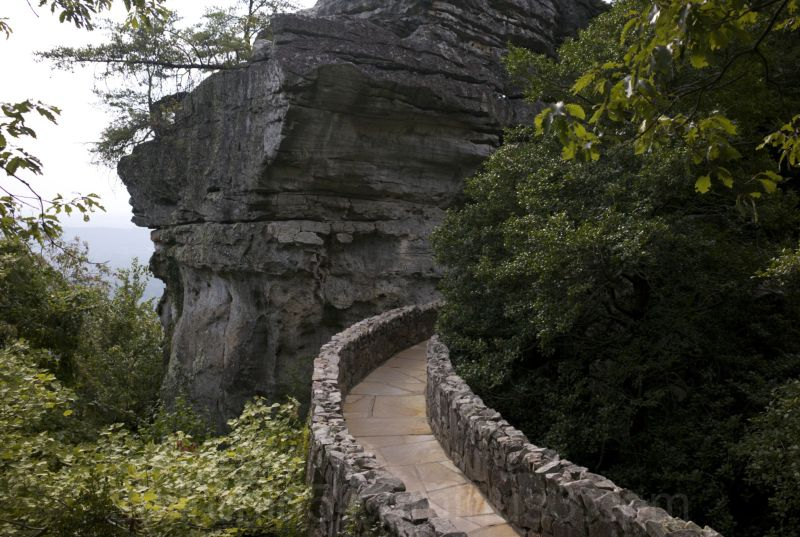 Footpath in Rockcity Tennessee