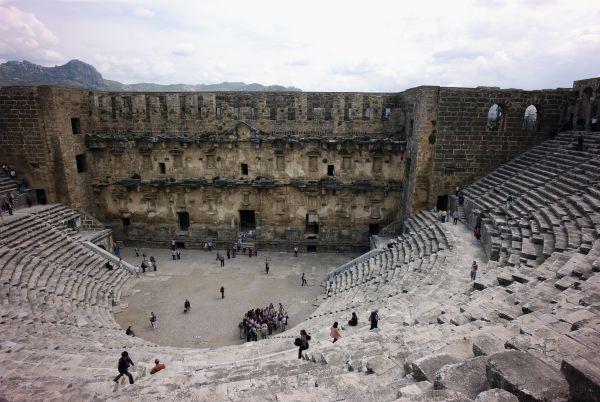 Roman Amphitheater at Aspendos Turkey