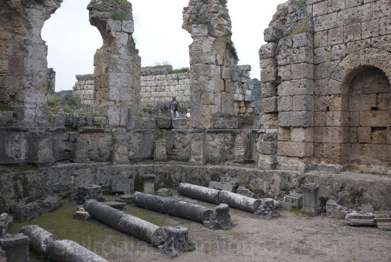 Roman ruins at Perge, Turkey