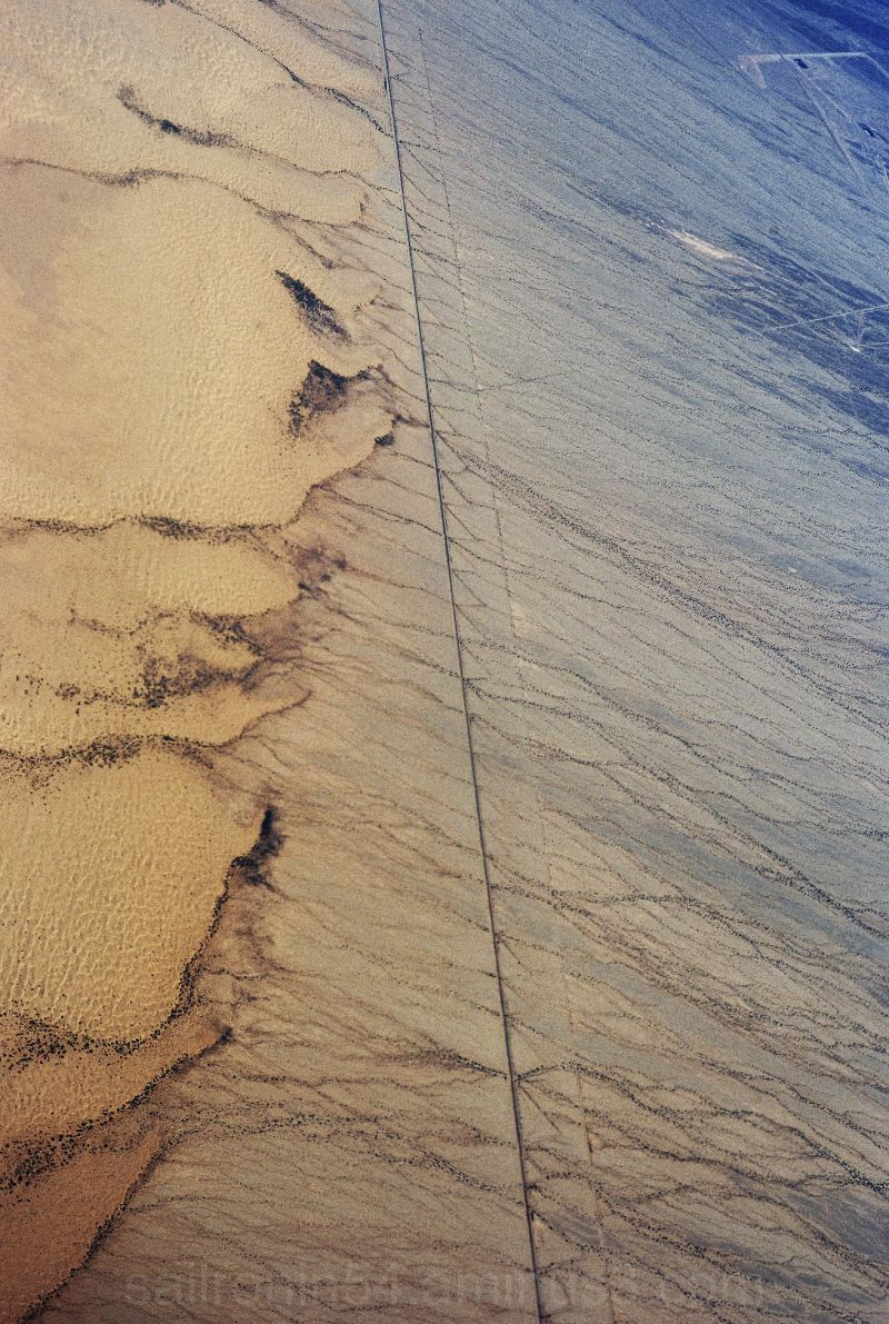 desert from air
