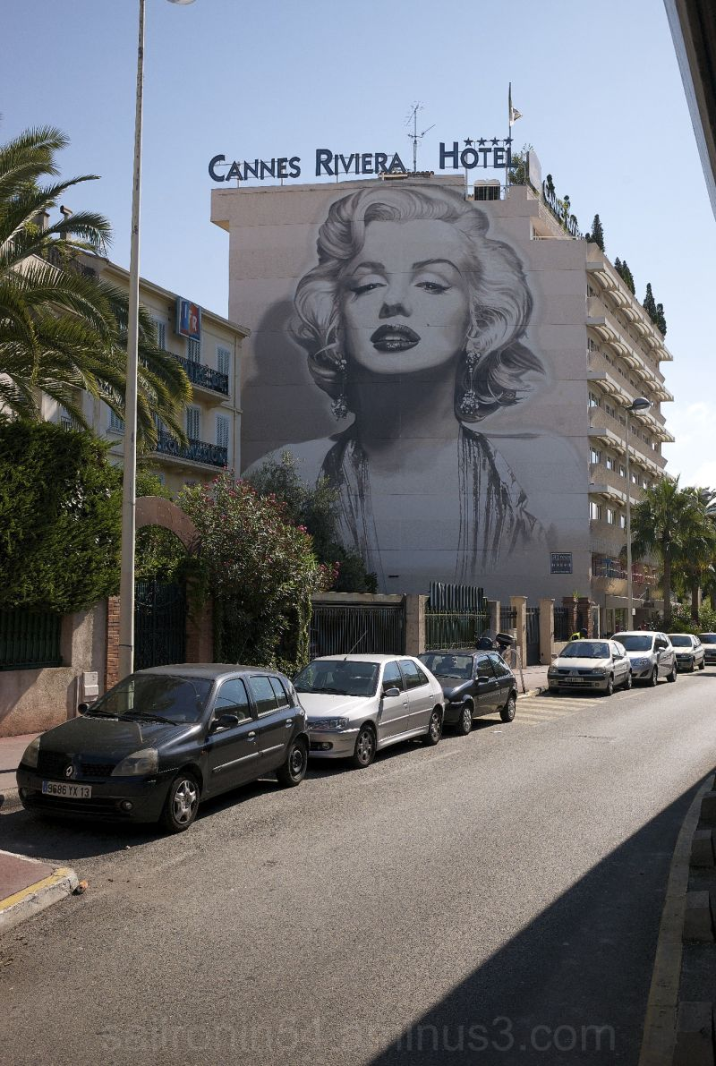 Cannes Riviera hotel my marilyn