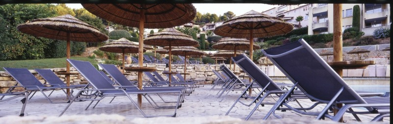 Pool chairs, Bandol France Dolce resort Xpan