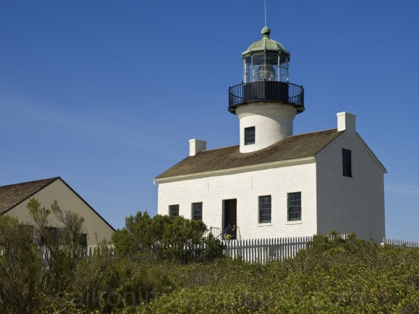 Old Spanish lighthouse, Cabrillo National Monument