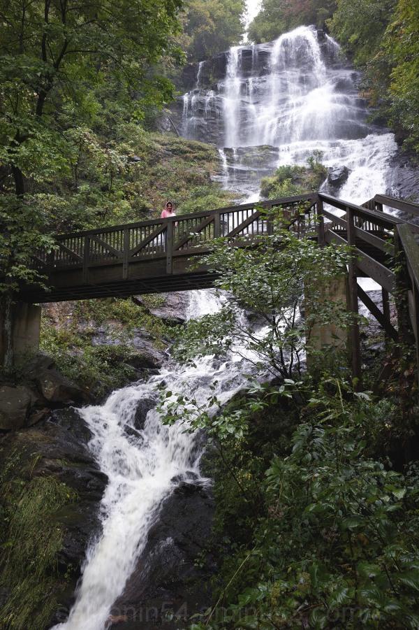 Bridge at Amicalola Falls, Georgia