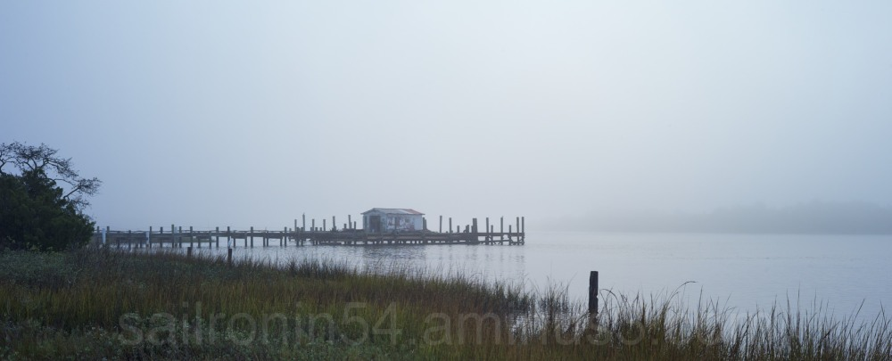 Fish hut on the St. John's River near Jacksonville
