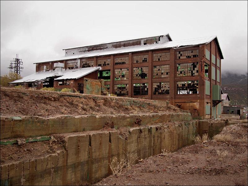Abandoned Smelter