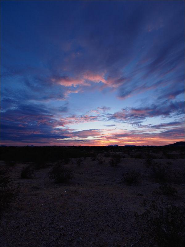 Arlington, Arizona sunset No. 2