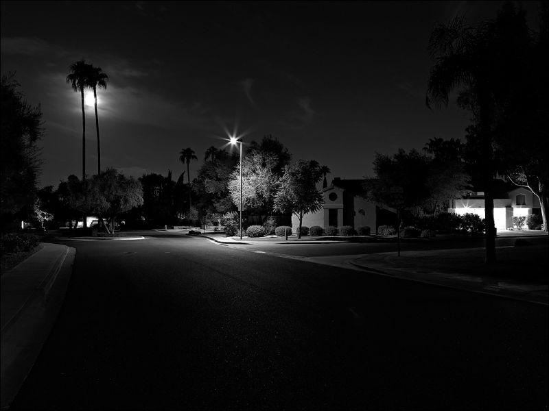 Moonrise over Scottsdale