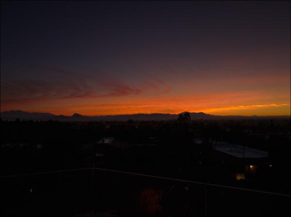 Ho-hum ... another sunrise