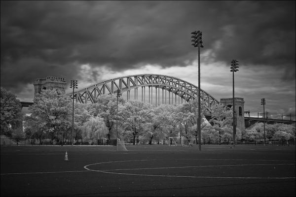 Hell's Gate Bridge fuji x-pro1 nyc new york