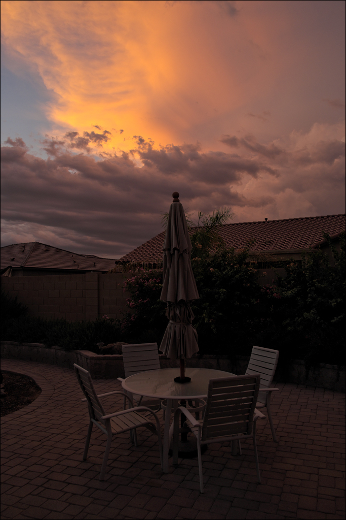 Goodyear sunset