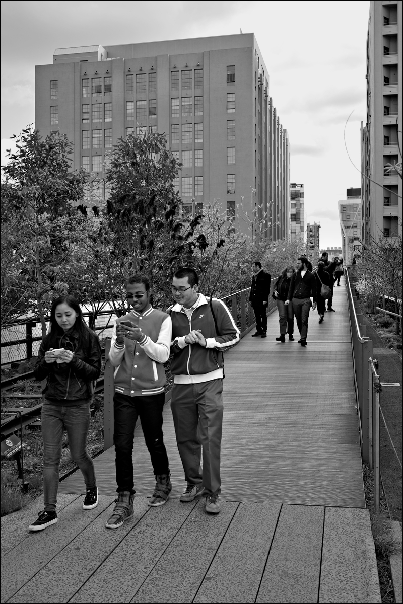 Cellphones on the High Line