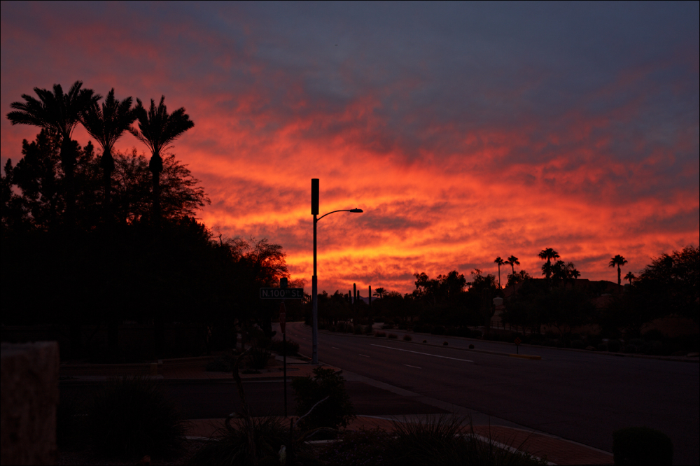 Ho-hum ... another Arizona sunset