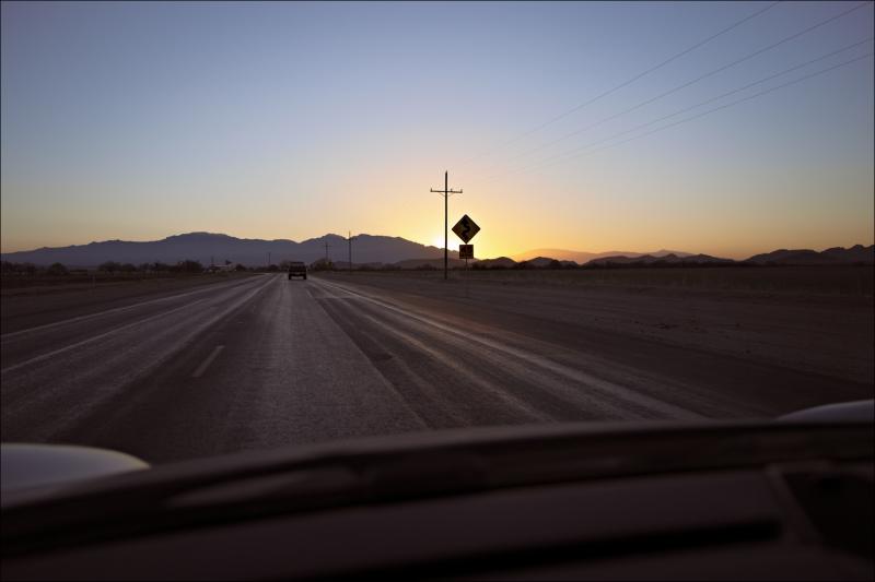 Marana Road sunrise