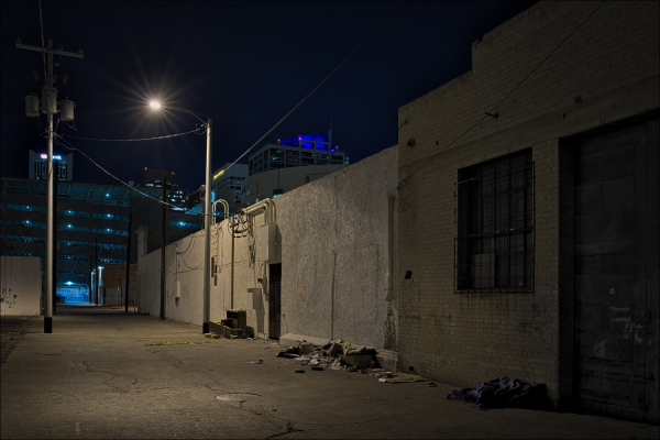 The alley behind the New Windsor Hotel, No. 3