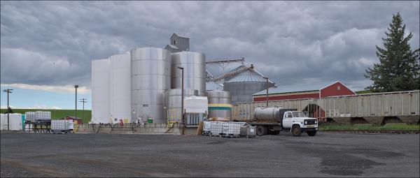 Oakesville, WA grain storage complex