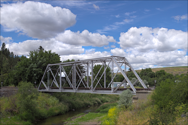 Railroad bridge...