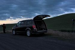 How sunrise landscape photos are taken...