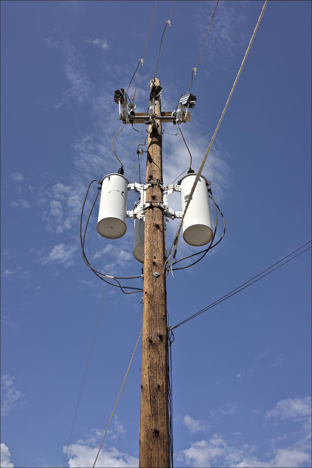 Peoria Power pole...