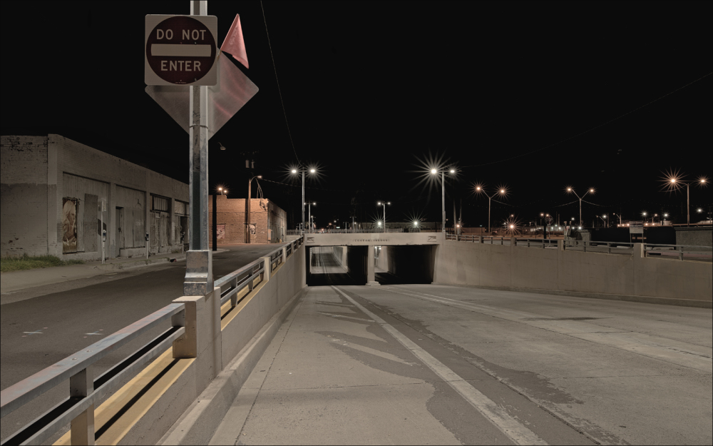 Central Avenue underpass...
