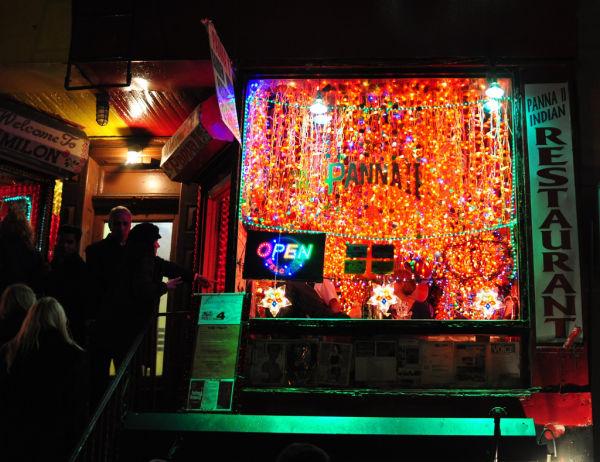 Indian Restaurant Lights NYC