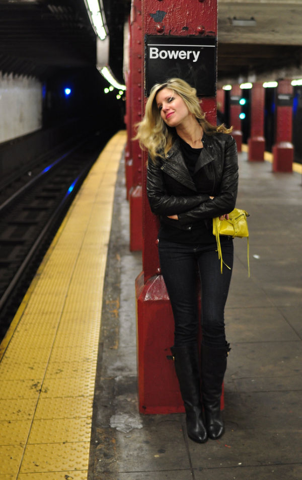 Kate at Bowery Stop