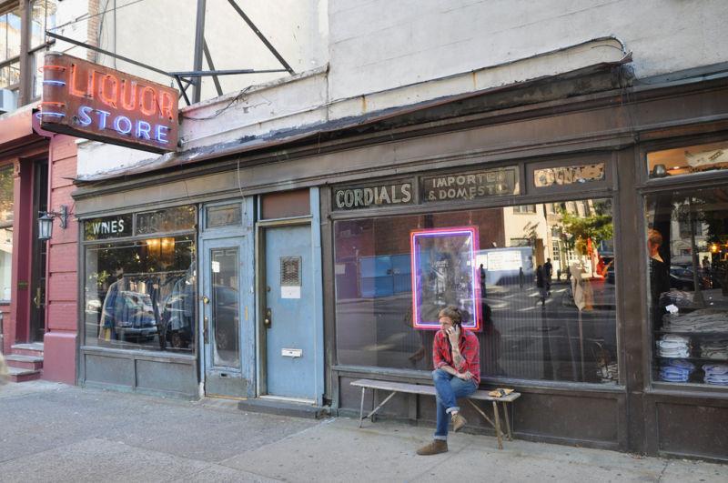 J Crew Liquor Store NYC