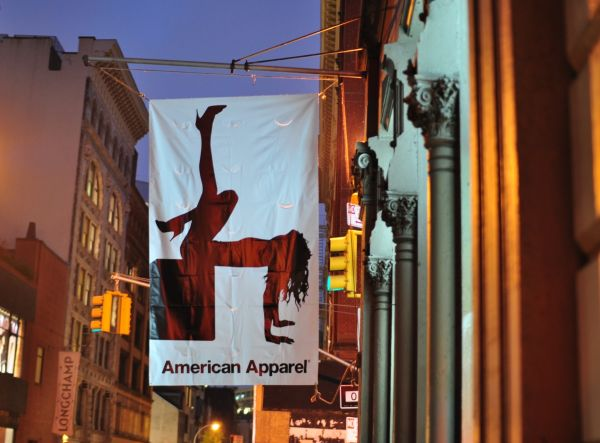 American Apparel Flashdance Sign