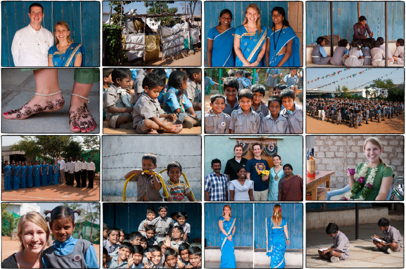 A few images from our first month in India