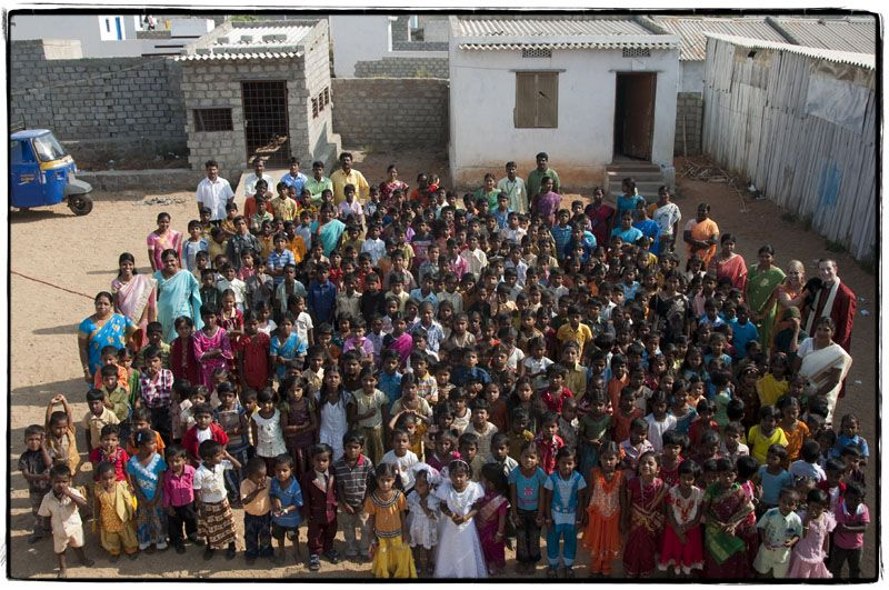 All the Children and Teachers from O.F.I on Annual