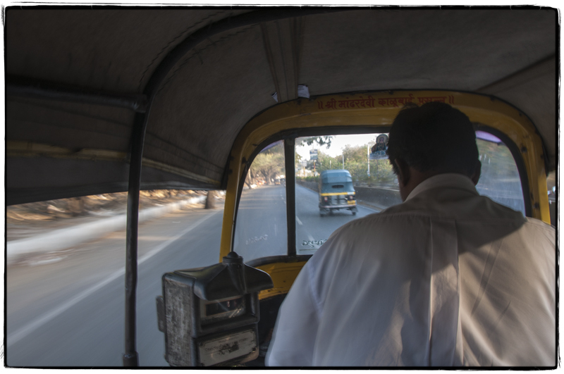 Our rickshaw ride in Pune, India