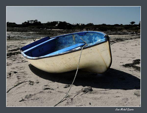 Ile de Batz barque plage