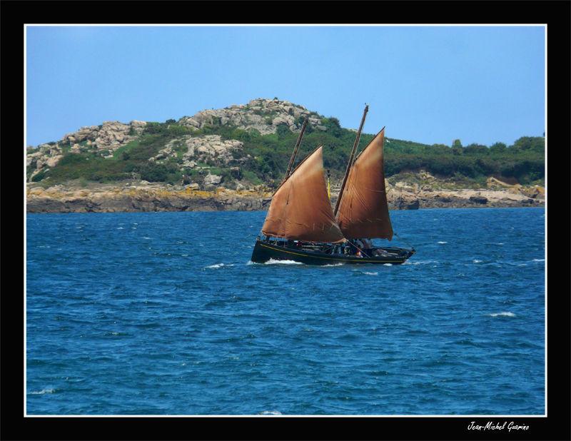 Voilier brehat sailboat bretagne brittany