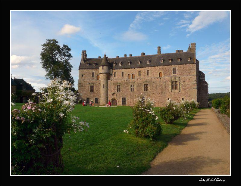 Chateau castle la roche jagu bretagne cote d'armor